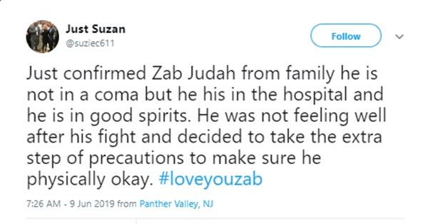 Zab Judah Hospitalized For Bleeding on His Brain
