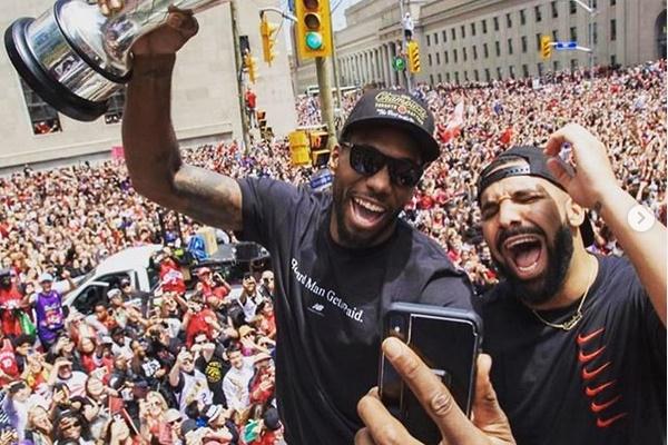Drake Planning his Own Kawhi Leonard Recruiting Pitch