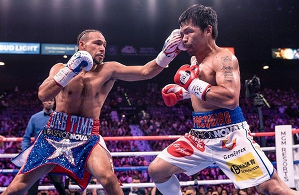 Keith Thurman Keeps it Professional After Pacquiao Beats Him