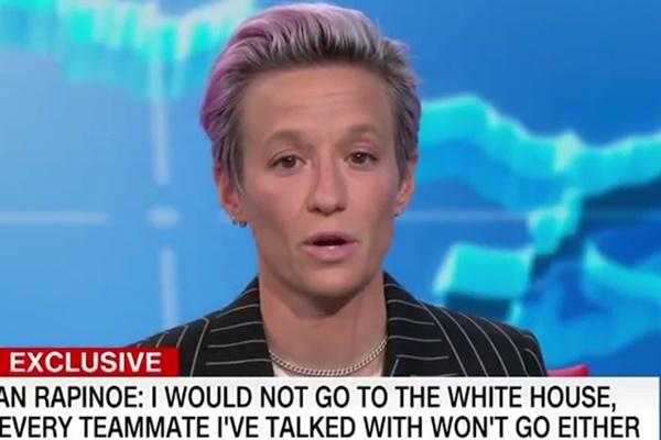 Megan Rapinoe: Trump Dragging America Back to Bigotry