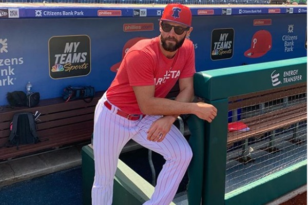 "Phillies Jake Arrieta Threatens to ""Put a Dent in"" Todd Frazier ""Skull"""