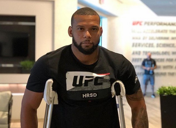 Thiago Santos Recovering From Meniscus Injuries to Knees