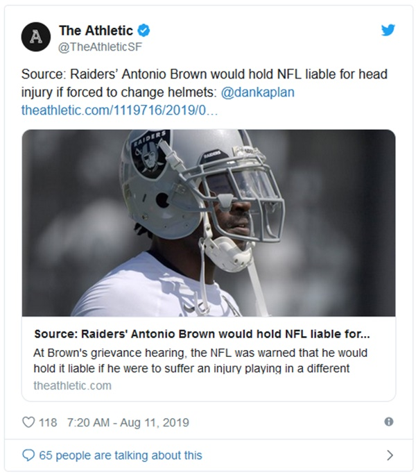 Antonio Brown's Legal Team Issues THREAT to Raiders