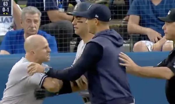 Yankees Brett Gardner SLAMS Umpire LYING