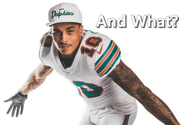 Kenny Stills Responds to Brian Flores' Playing Nas in Dolphins Locker Room