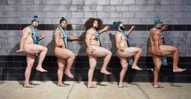 Philadelphia Eagles Offensive Line Poses Nude For ESPN Body Issue