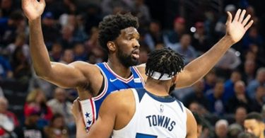"Joel Embiid ""I Got KAT's Mom Giving Me Middle Fingers"""