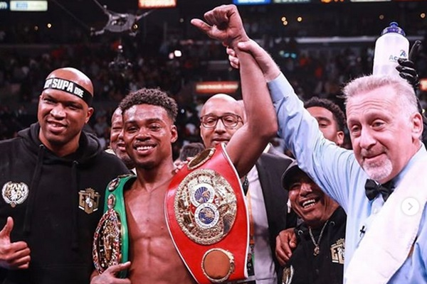 Boxer Errol Spence Jr. Involved in Ferrari Crash Charged with DWI