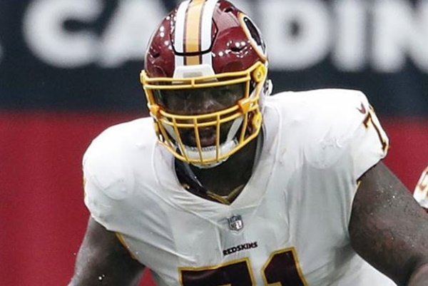 Redskins Opt To Keep Trent Williams
