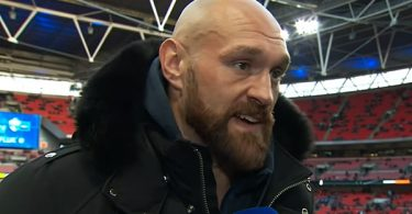 Tyson Fury Training To Fight Conor McGregor Next