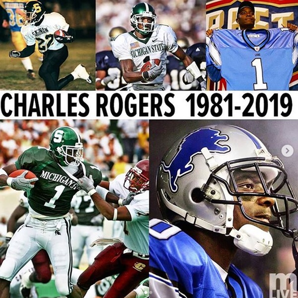 Charles Rogers Detroit Lions Star Dead At 38