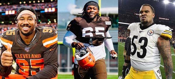 NFL Suspends BLACK PLAYERS: Garrett, Ogunjobi & Steelers' Pouncey