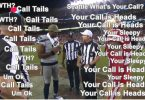 "NFL Ref Tells Geno Smith ""You Called Heads"" But He Called 'Tails'"