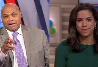 Charles Barkley Threatens To Hit Female Reporter Alexi McCammond