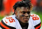 Browns Tight End David Njoku Elected Surgery