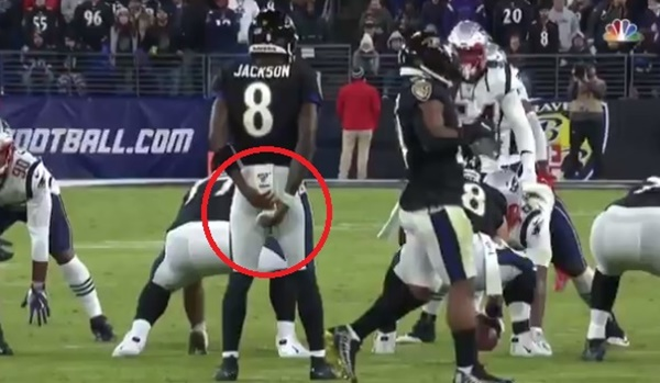 Did Chris Collinsworth SNITCH on Lamar Jackson Towel Grab