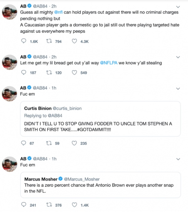 Antonio Brown FIRES BACK At Fan Over Criticism