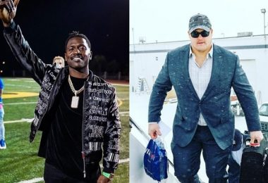 Antonio Brown RIPS Richie Incognito Who Plays In NFL After Domestic Charge