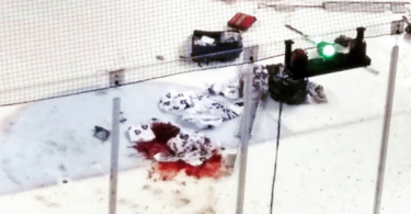 IceDogs Tucker Tynan Suffers Disgustingly Bloody Injury