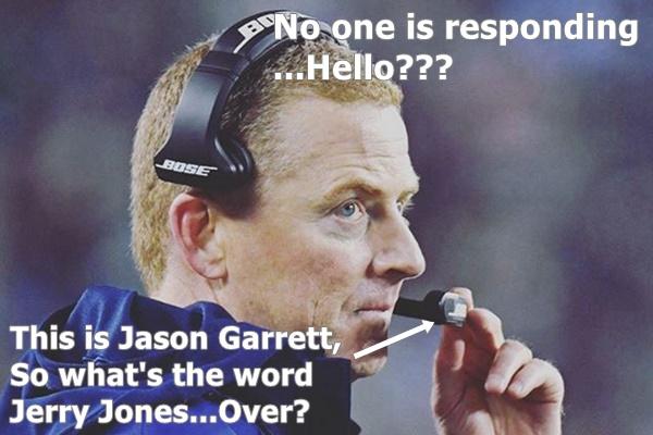 Cowboys Win But Is It OVER For Head Coach Jason Garrett