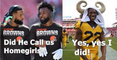 Marcus Peters TROLLED After Calling Jarvis Landry + OBJ 'Homegirls'