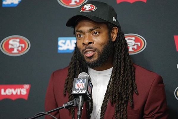 Richard Sherman Admits There's 'NO LOVE LOST' For Jim Harbaugh