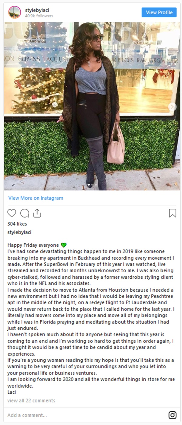 Seahawks DE Jadeveon Clowney Baby Mom Accused of Stalking + STD's By IG Model