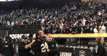 Furious Raiders Fans Throw Garbage On Field