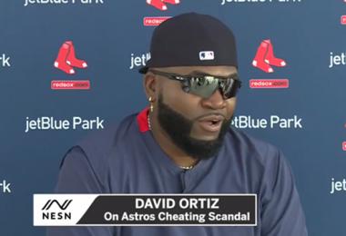 David Ortiz Calls Mike Fiers A 'Snitch'