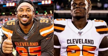 Browns Exercise 5th-year Options for Myles Garrett & David Njoku