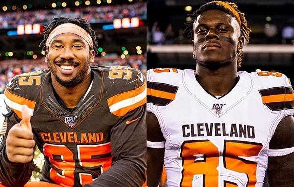 Browns Exercise 5th-year Options for Myles Garrett & David Njoku