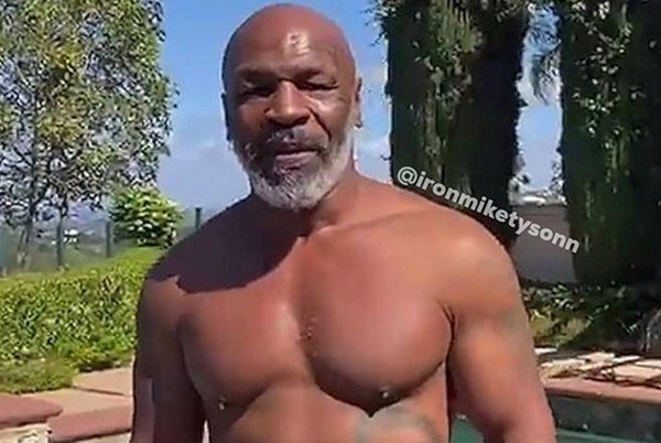 Mike Tyson Sets Social Media On Fire With Boxing Video