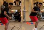 Dolphins Tua Tagovailoa Shows Off Foot Skills