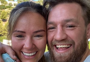 Conor McGregor Proposed to Longtime Girlfriend Dee Devlin