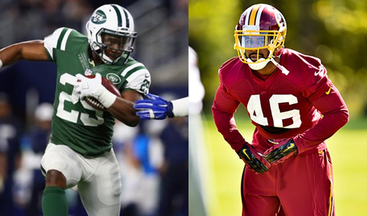Jets RB Khiry Robinson Injured; Redskins S Donte Whitner Out