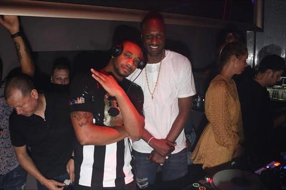 Lamar Odom Spotted Clubbing in Miami