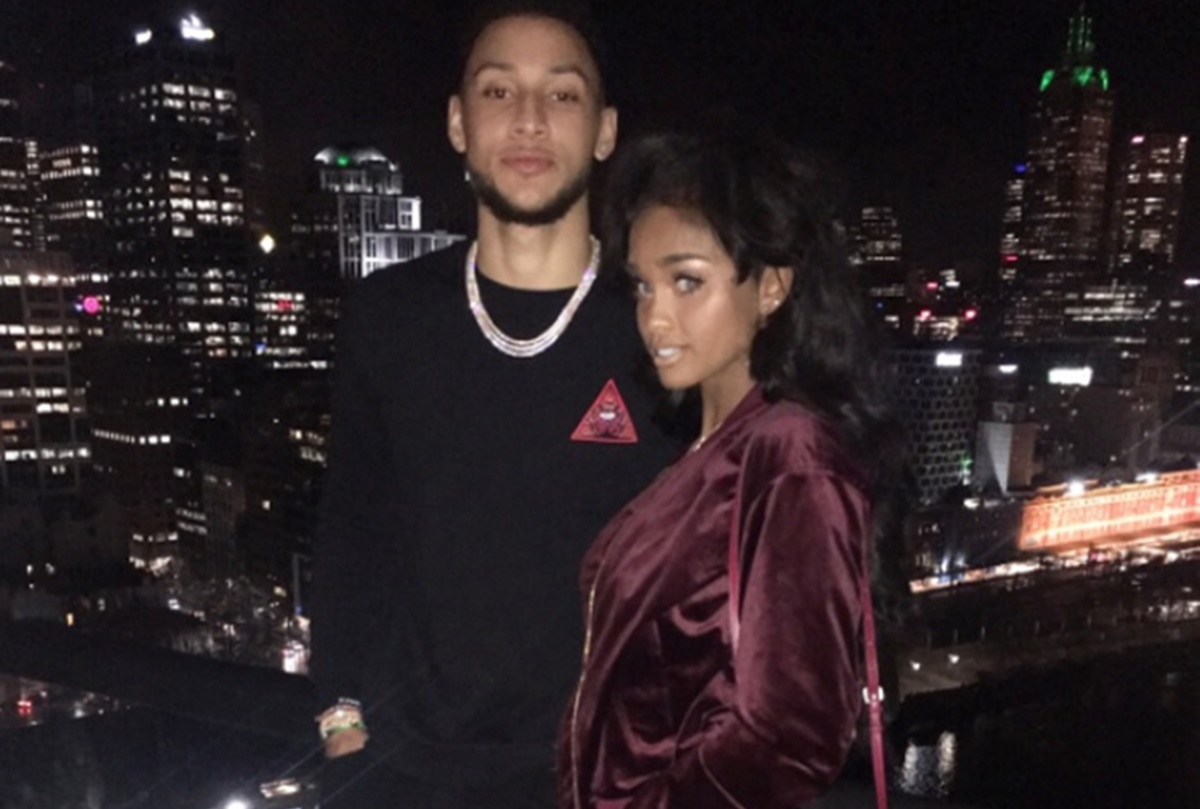 Philadelphia 76ers Ben Simmons Shows Off Hot Girlfriend