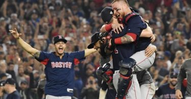 The Red Sox Win The World Series 2018