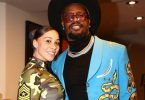 Von Miller's Fiance Megan Denise Grabs his Anaconda