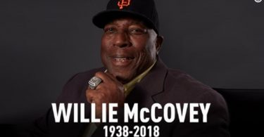 MLB Legend Willie McCovey Has Passed Away