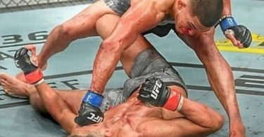 Anthony Pettis Superman Punch KO Brutally Flawless