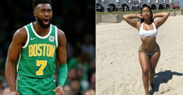 Boston Celtics Jaylen Brown BURNED on IG Model Page
