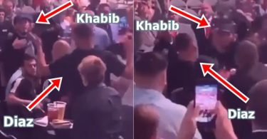 Nate Diaz + Khabib Almost Come to Blows