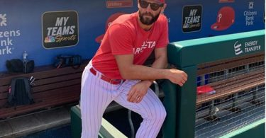 "Phillies Jake Arrieta Threatens to ""Put a Dent in"" Todd Frazier ""Skull"""