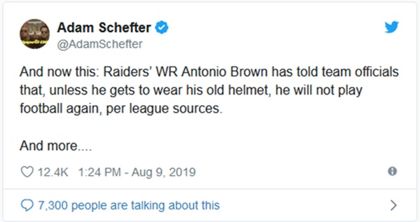 Antonio Brown Officially A Diva with Raiders