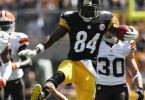 Antonio Brown Defends Mason Rudolph