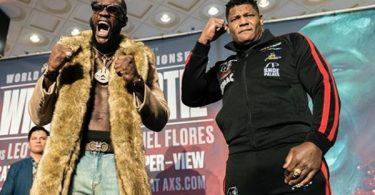 Deontay Wilder Knocks Out Luis Ortiz in 7th Round