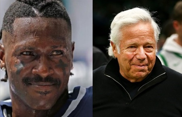 Antonio Brown Issues an Apology to Robert Kraft + Patriots