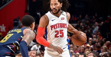 Pistons Derrick Rose Drains Last Second Shot For The Win