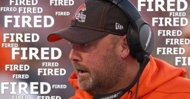 Cleveland Browns Fire Head Coach Freddie Kitchens